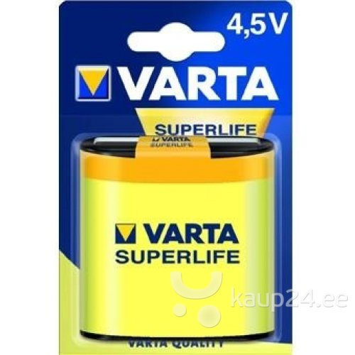 Varta Superlife 4,5V patarei