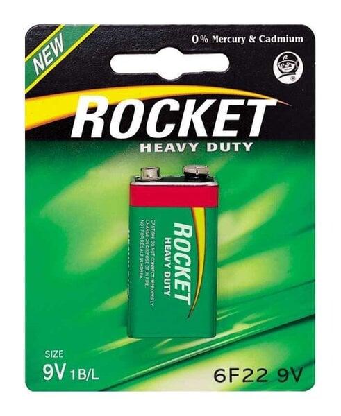Rocket Heavy Duty 9V patarei цена и информация | Patareid | kaup24.ee