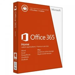 Microsoft Office 365 Home Medialess, LT