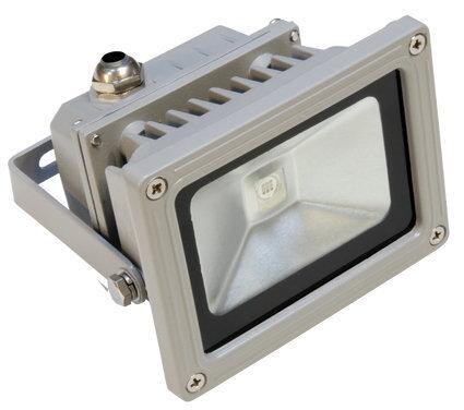 Прожектор LED Ekoled 10 W (3000K) цена и информация | Aia- ja õuevalgustid | kaup24.ee