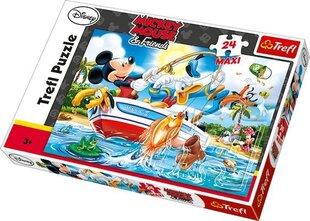 Puzzle Trefl Miki Hiir, 24 tükki hind ja info | Puzzle, mõistatused | kaup24.ee