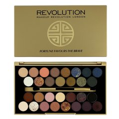 Lauvärvipalett Makeup Revolution London Fortune Favours The Brave Palette 16 g hind ja info | Silmadele | kaup24.ee