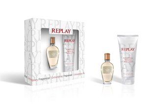 Комплект Replay Jeans Spirit!: edt 20 мл + лостон для тела100 мл