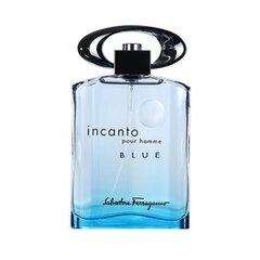 Tualettvesi Salvatore Ferragamo Incanto Blue EDT meestele 100 ml hind ja info | Meeste parfüümid | kaup24.ee