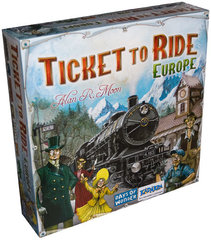 Lauamäng Ticket to Ride Europe