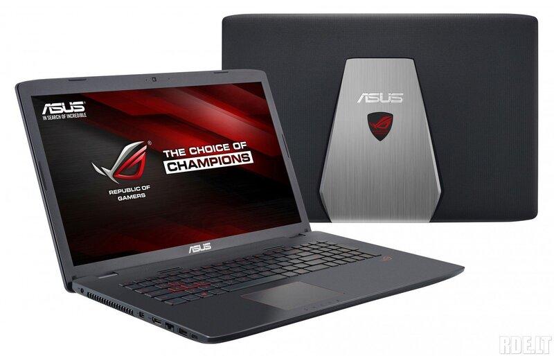 Sülearvuti Asus ROG GL752VW-T4447D