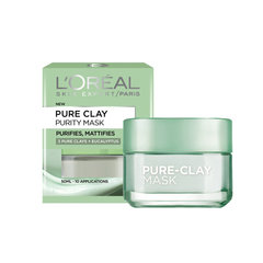 Puhastav savimask L'Oreal Paris Pure Clay 50 ml