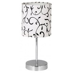 Laualamp Candellux Emily, valge/must