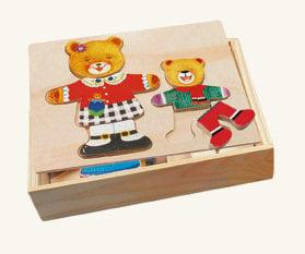 Pusle Mõmmi kleidiga цена и информация | Arendavad mänguasjad 3+ | kaup24.ee