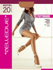 Naiste sukkpüksid Elledue Hotel 20 DEN pruun