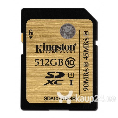 Mälukaart Kingston 512GB SDXC 10 klass