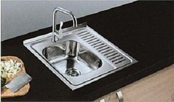Кухонная раковина 6060 D цена и информация | Köögivalamud | kaup24.ee