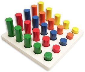 Puidust arendav mäng pulkadega Pareto