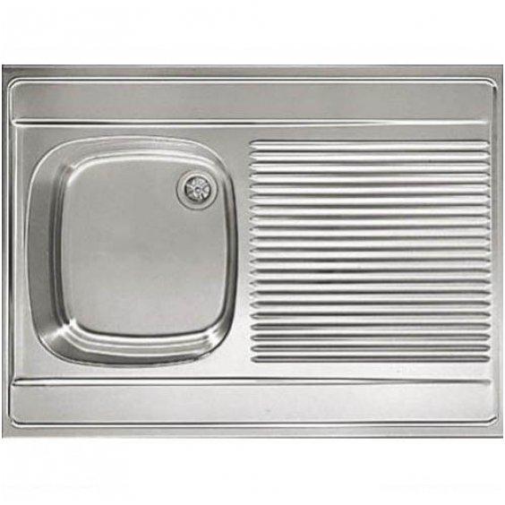 Кухонная мойка 80x60 Eurodoma, накладная цена и информация | Köögivalamud | kaup24.ee