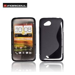 Kaitseümbris Forcell Back Case sobib HTC Desire VC (T328D), must