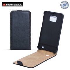 Klapiga ümbris Forcell Slim Flip sobib Samsung Galaxy Young (S6310), must