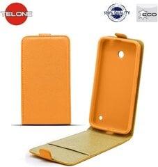 Mobiili ümbris Telone Shine Pocket Slim Flip Case sobib Nokia X, Oranž