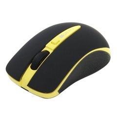 CANYON Mouse CNS-CMSW6 (Wireless, Optical 800/1600 dpi, 4 btn, USB, automatic power saving), Yellow hind ja info | Hiired | kaup24.ee