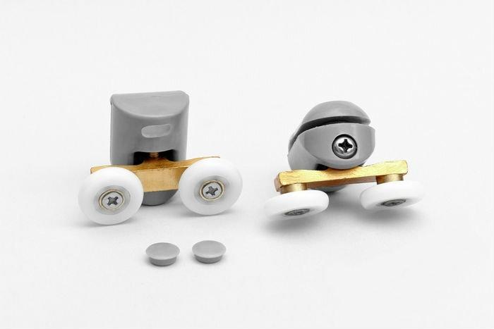 Dušikabiini rattad, 5.5 cm hind ja info | Lisatarvikud vannidele | kaup24.ee