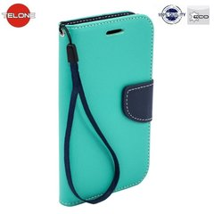 Telone Fancy Diary Bookstand Case HTC Desire 630 Light Blue/Blue
