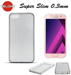Kaitseümbris Telone Ultra Slim 0.3mm Back Case Samsung A320F Galaxy A3 (2017) Black