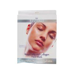 Niisutav näomask Revitale Royal Jelly & Collagen, 2 tk