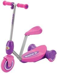 Laste elektriline tõukeratas eemaldatava istmega Razor Lil'E, roosa