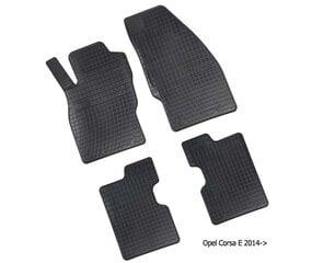 Резиновые коврики Opel Corsa E 2014-->