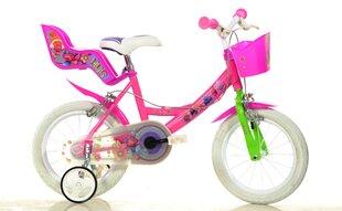 """Tüdrukute jalgratas Trolls Dino Bikes 14"""", 144R-TRO"""