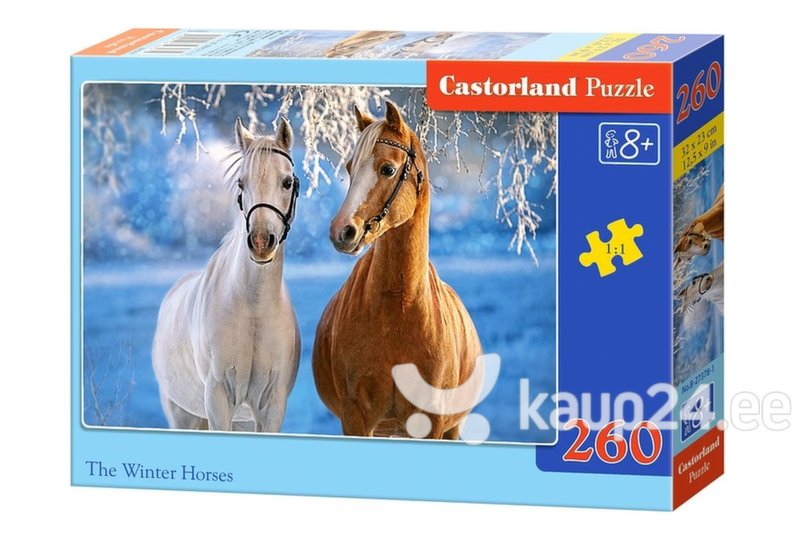 Pusle Castorland The Winter Horses, 260tk