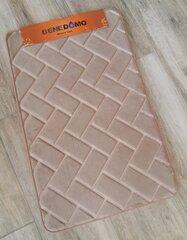"Vannitoavaip Memory foam ""Benedomo"" 50x80 LZ-19 Dark beige"