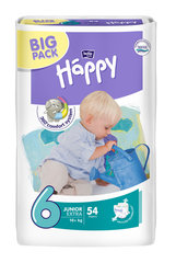 Mähkmed Happy Junior Extra, suurus 6, 16+ kg, 54 tk