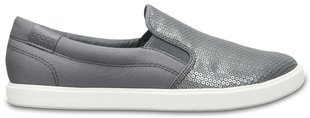 Naiste tennised Crocs™ CitiLane Sequin Slip-on​, hõbedane