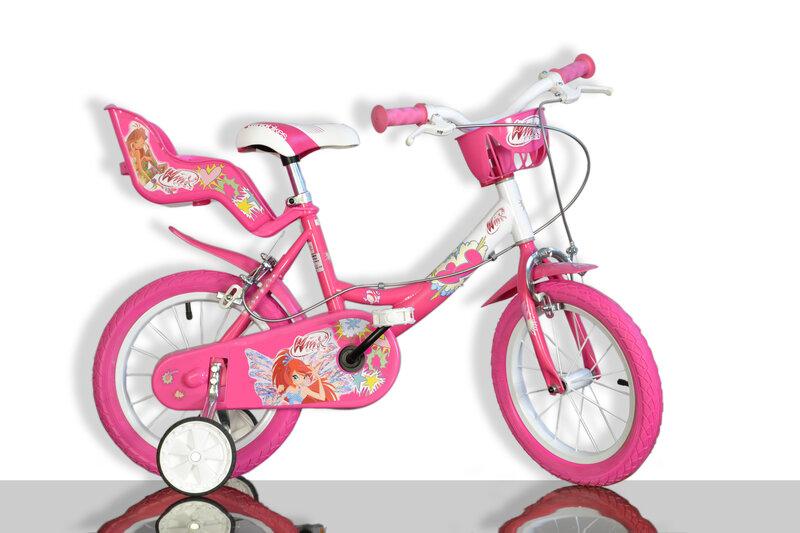 Tüdrukute jalgratas Dino bikes WINX 14
