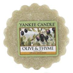 Ароматическая свеча Yankee Candle Olive&Thyme 22 г
