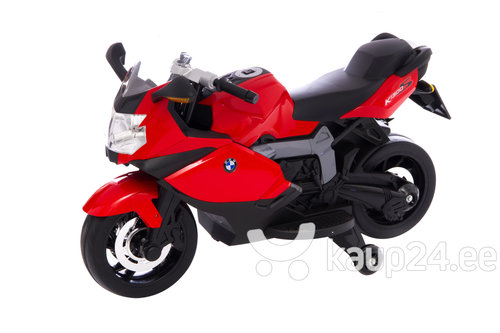 Elektriline mootorratas BMW, punane