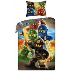 Laste voodipesukomplekt 2-osaline, Lego Ninjago hind ja info | Voodipesu lastele ja imikutele | kaup24.ee
