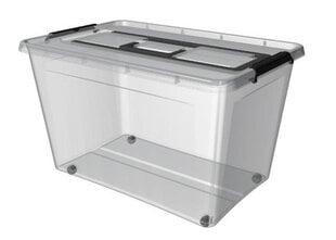Ящик для хранения Orplast на колесиках и с ручкой, 80 л