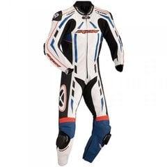 Nahast kostüüm Ixon Pulsar AIR, valge/must/sinine hind ja info | Nahast kostüümid | kaup24.ee