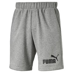 "Meeste püksid Puma ESS No.1 Sweat Shorts 9""​, hall"