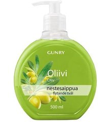 Vedelseep Gunry 500 ml, oliiv