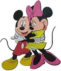 Laste seinakleebis Disney Miki ja Minnie I