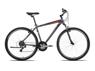 "Meeste mägijalgratas UNIBIKE Flash GTS 2017 28"" Graphite-Orange"