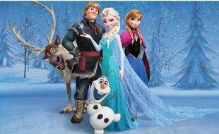 Fototapeet Frozen