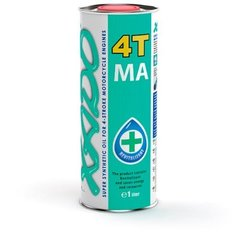 XADO Atomic OIL моторное масло 10W-40 4T MA Super Synthetic (1Л)