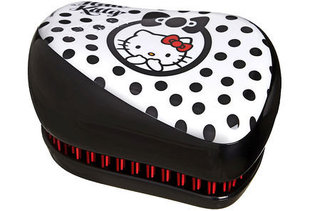 Laste juuksehari Tangle Teezer Compact Styler Hello Kitty, must