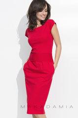 Naiste kleit Numinou by Makadamia, punane I