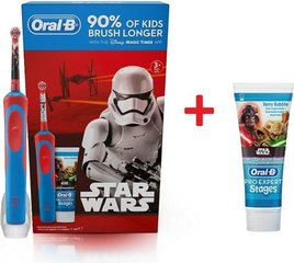Hambahari ORAL-B Kids Star Wars + hambapasta