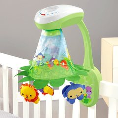 Voodikarussell-projektor Fisher-Price Rainforest™ Grow-with-Me ​