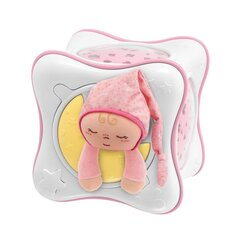 Lastetoa uneprojektor Chicco First Dreams Rainbow Cube, roosa